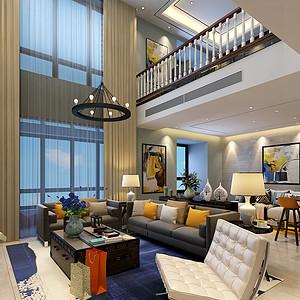 龙湖香醍·西岸 简约风格装修效果图 五室二厅三卫 170平米
