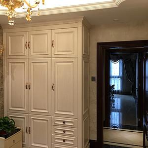 【实景图】皇家花园美式风格衣柜