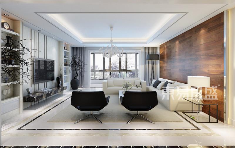 欧式古典 - 客厅欧式装修效果图 四室两厅两卫一厨