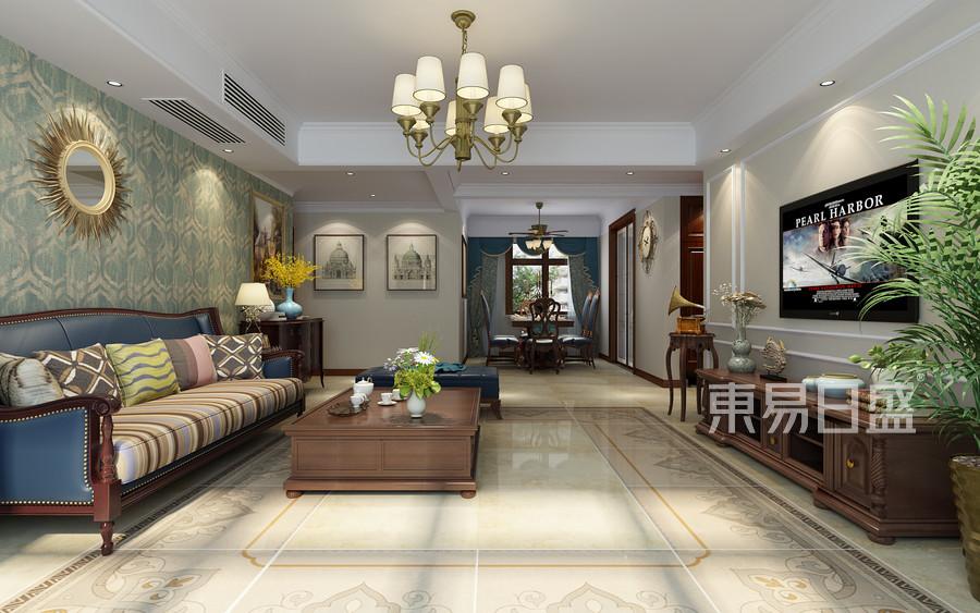 三居室-简美-效果图