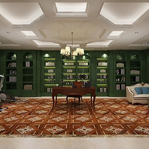 同时具有书房、会客室、健身房的功能