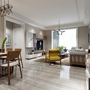 新景逸园115平米四室两厅两卫-北欧风格