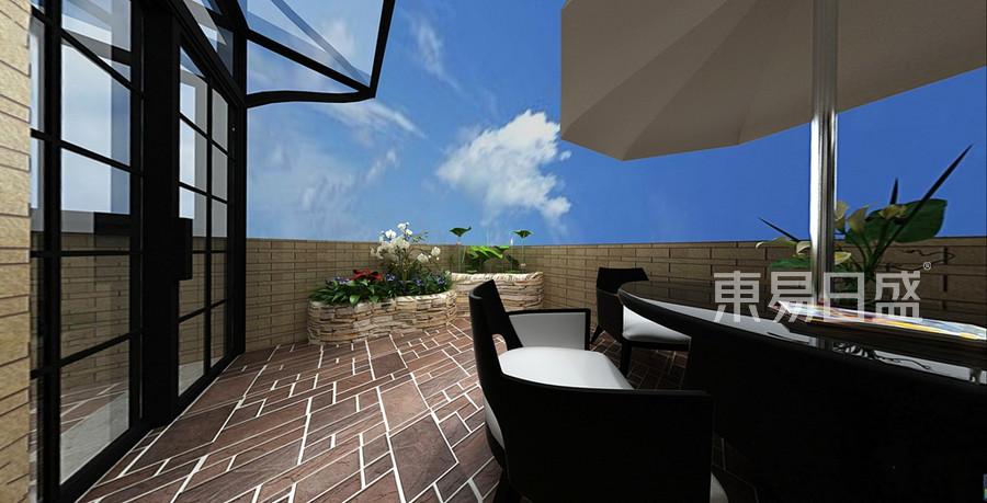 美式风格阳台