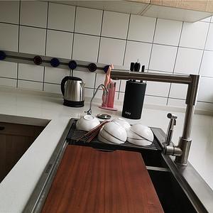 云海二期149平新中式设计装修效果图-厨房