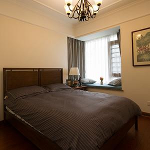 天一康园185平简美风格三居次卧室