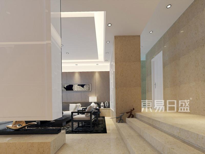 誉景名居价格后现代客厅装修效果图中国古典别墅别墅图片