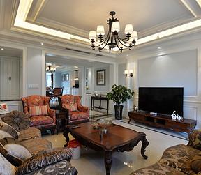 美式现代风格客厅