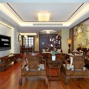 雍城世家古典中式177平米