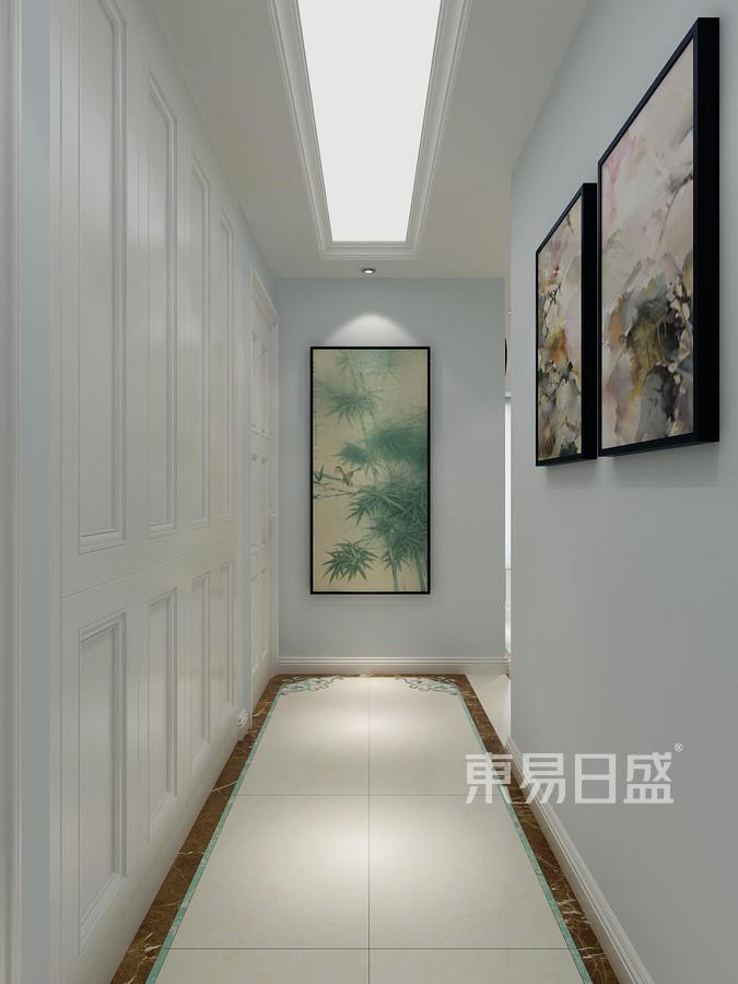 墨河嘉苑现代简约装修银行效果图展示设计大厅风格图片