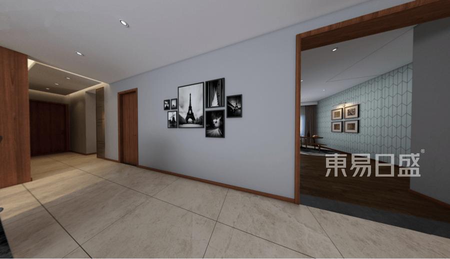 龙湖九里晴川-现代前卫-客厅效果图