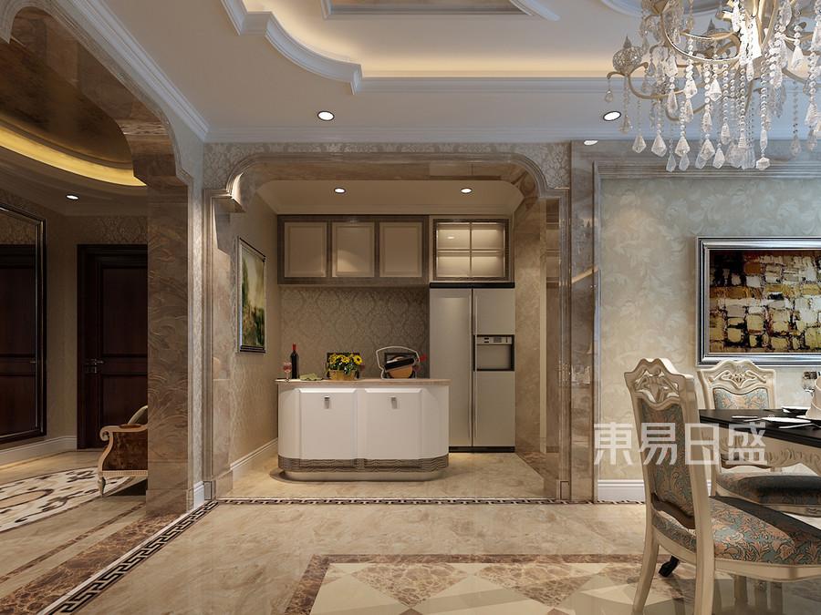 厨房间欧式装修效果图 五室四厅三卫两
