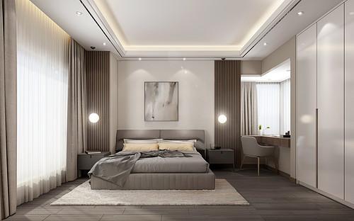 雅居乐一尺山居110㎡现代轻奢风格装修案例