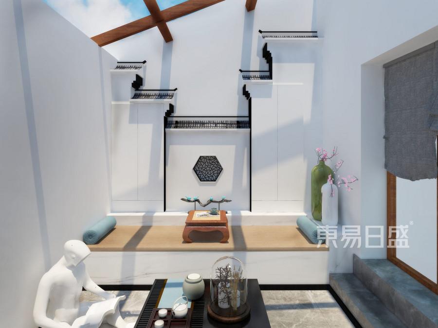 徜徉墅  新中式  地下室装修