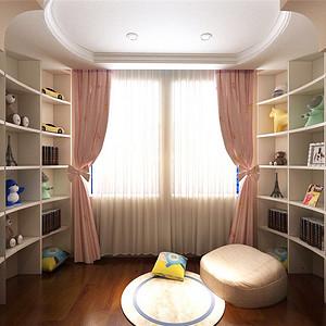 赫顿山美式儿童房装修效果图