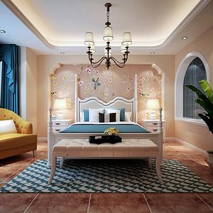 地中海风格 卧室装修效果图