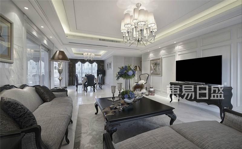 佛山欧式室内客厅装修设计