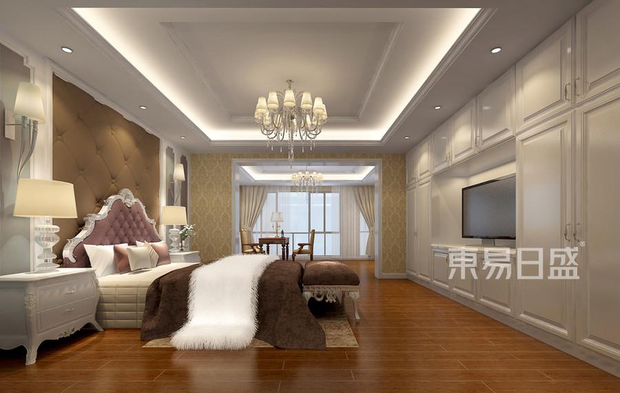 星河世纪-欧式古典-卧室装修效果图