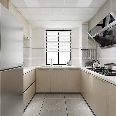 首开国风琅樾三居现代简约厨房装修效果图