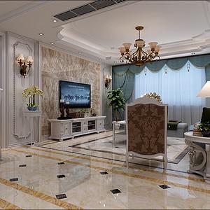 美墅 现代简欧风格 平层 140㎡