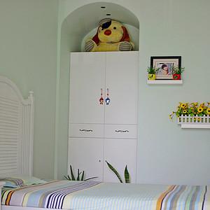 扬州东易日盛装饰124平地中海风格