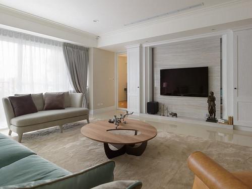 富华家园-美式装修风格-128平米装修设计理念