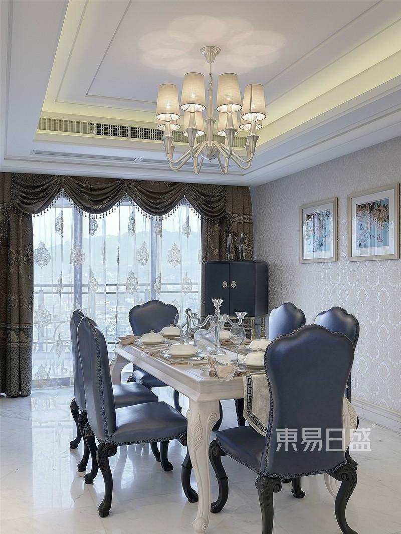 佛山欧式室内餐厅装修设计