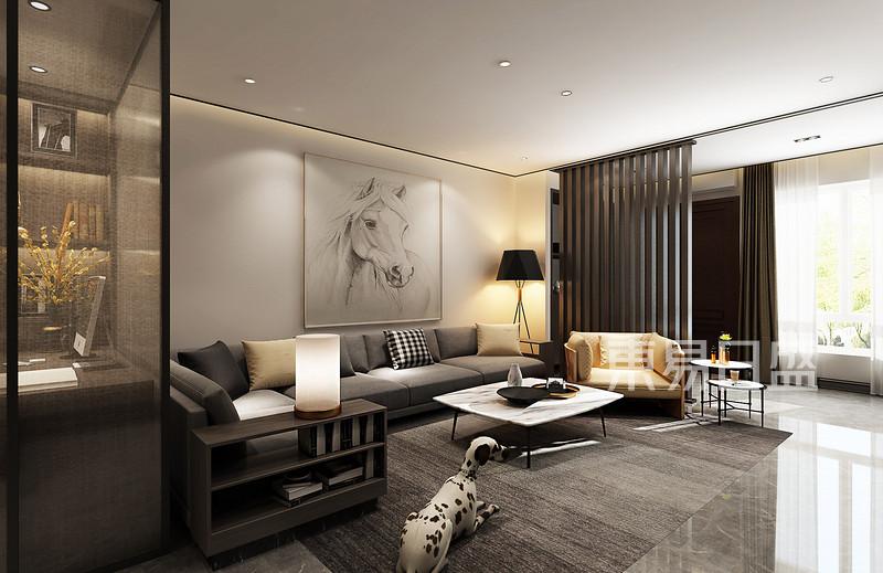 海逸豪庭客厅