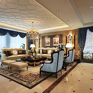 万科金域 新古典风格 五室两厅 330㎡