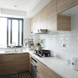 南塘四组团166平现代简约设计装修效果图-厨房