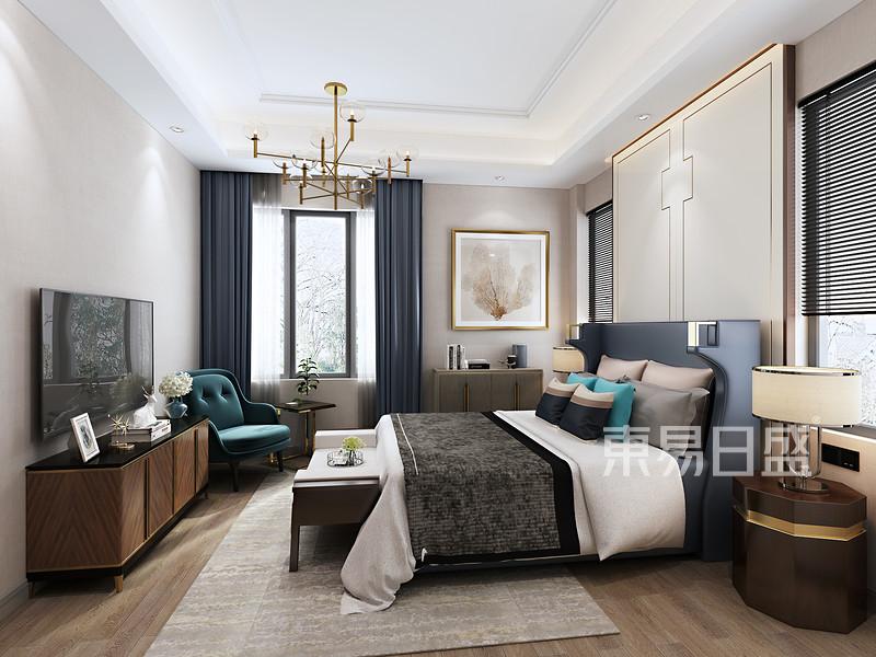 佛山现代风格独栋别墅卧室