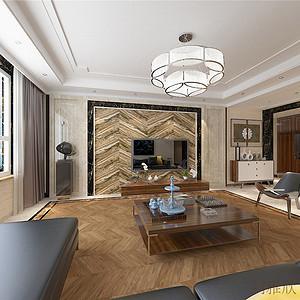 金屋一区-新中式风格-250平米