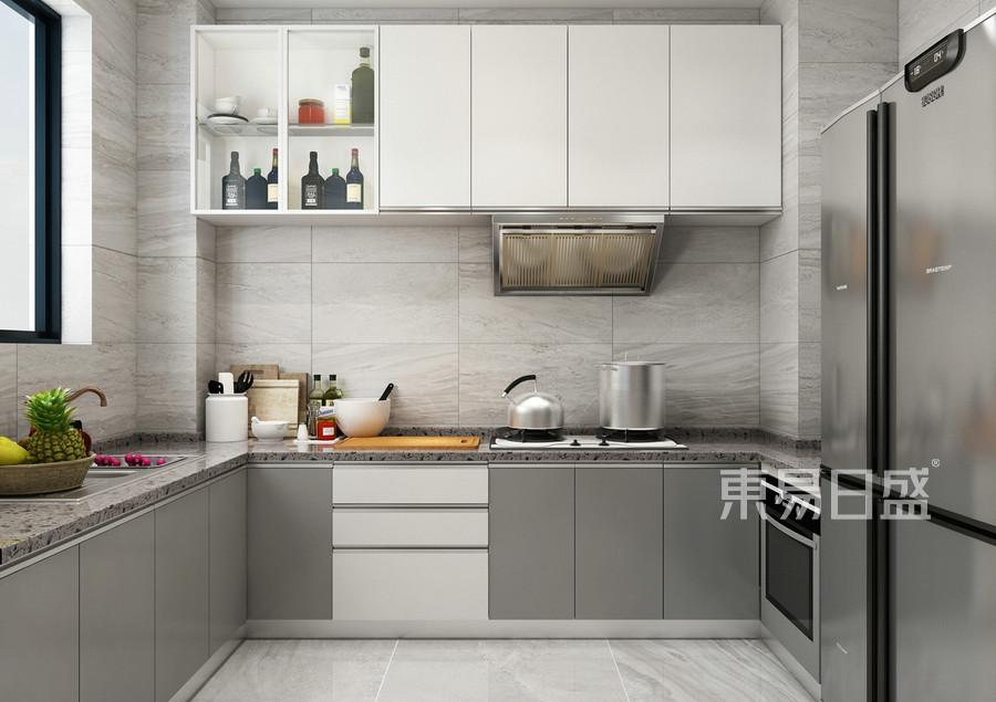 北欧风格-厨房-装修效果图