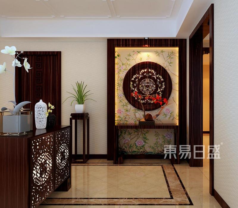 天通北苑 简约中式 门厅装饰