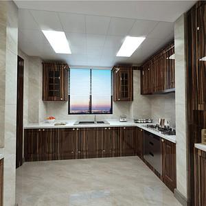 西水东 美式风格 厨房