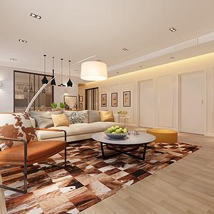 天鹅堡 现代简约风格 四室二厅 182㎡