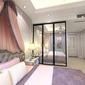 西水东 美式风格 卧室