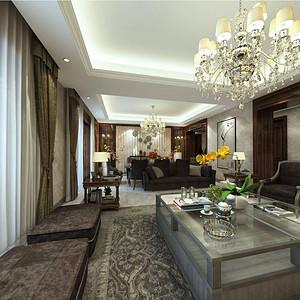 西水东 美式风格 客厅