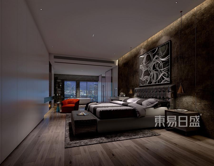 香山美墅-普通住宅-卧室-效果图