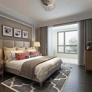 都市新奢华风格-卧室-装修效果图