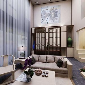碧湖苑-新中式风格-260平米