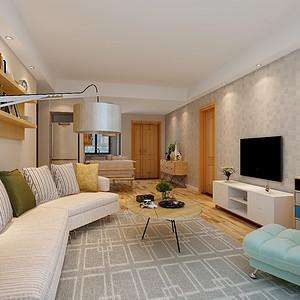 绿地海珀澜庭 北欧风格 三居室105平