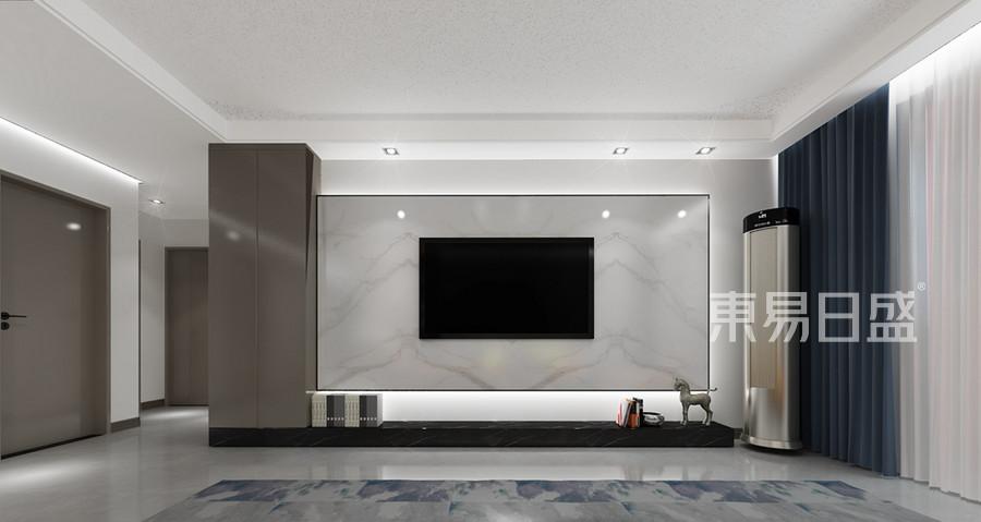 北欧风格客厅装修设计效果图_2019装修案例图片-装饰
