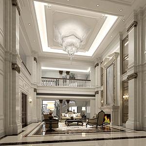 3500㎡法式新古典风格客厅