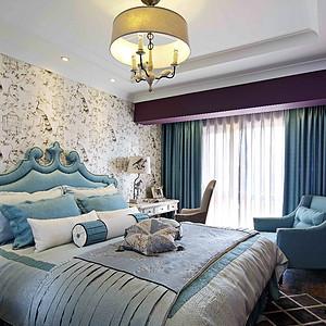 玉泉路 美式风格 卧室装饰