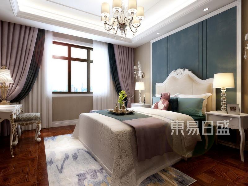 现代简约 - 主卧:床头背景墙软包搭配烤漆护墙板