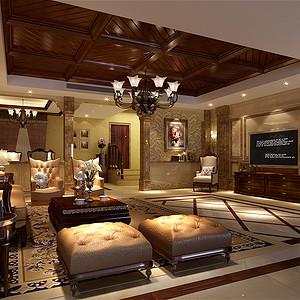 卡地亚500㎡别墅欧式古典风格