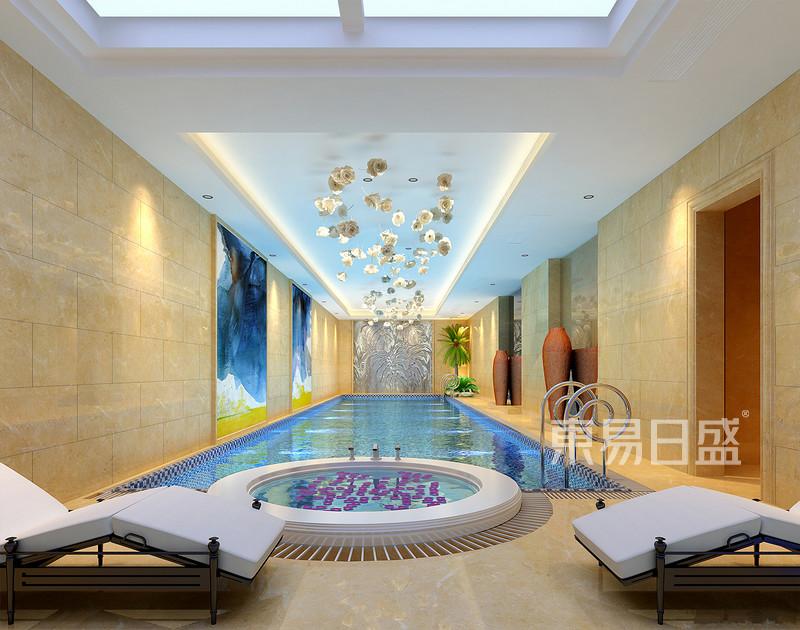 游泳室欧式古典装修效果图