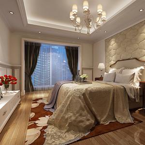 江阴一号公馆 美式风格 卧室
