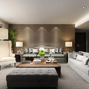曲江兰亭 现代风格 四室两厅 180平米