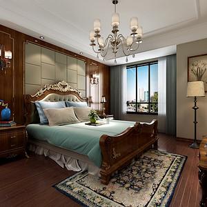 国联乐园 欧式风格 卧室